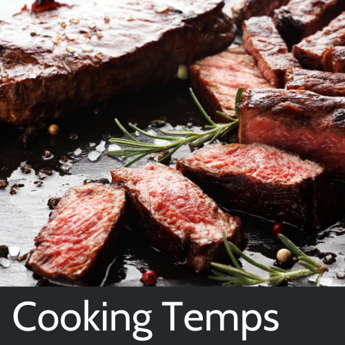 Meat Cooking Temperature